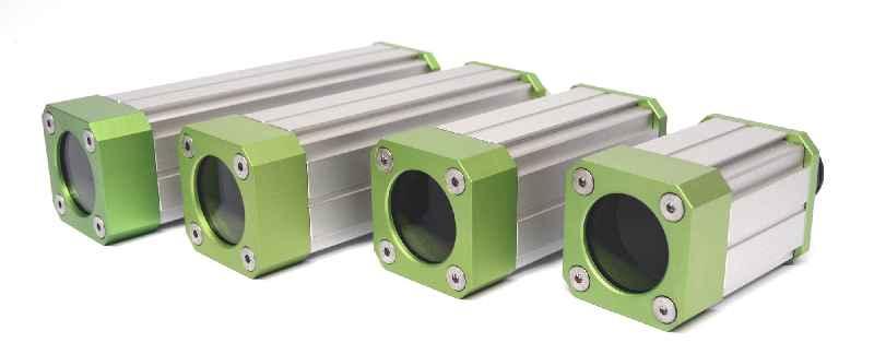 Salamander-Kameraschutzgehäuse sind in vier Längen erhältlich