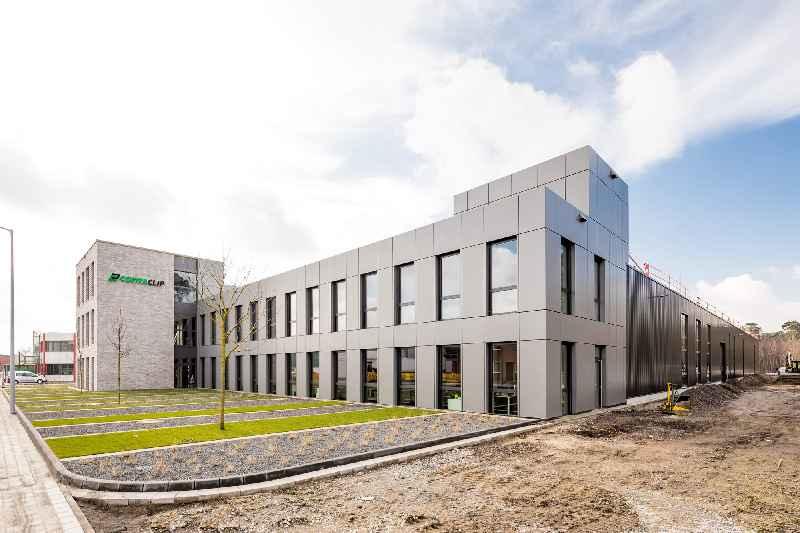 Neubau am CONTA-CLIP-Werk in Hövelhof