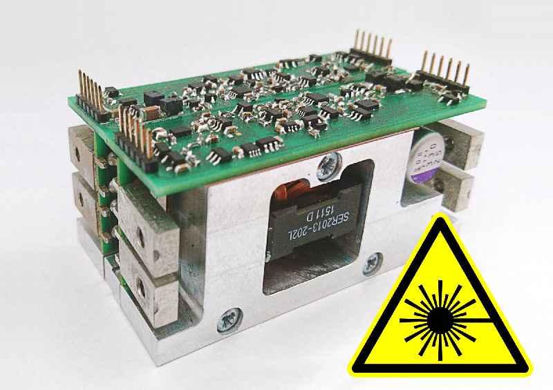 Laserdioden-Treiber der Baureihe DT-Vitro für hohe, variabel anpassbare Leistung