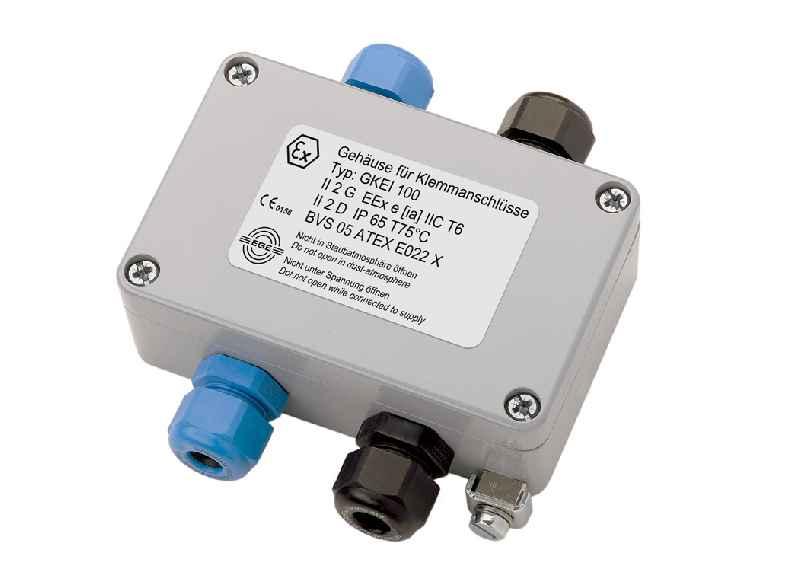 Ex-Klemmboxen der Baureihe GK eignen sich für eigensichere Stromkreise und Stromkreise in erhöhter Sicherheit
