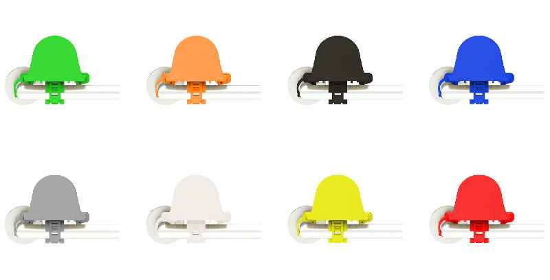 CONTA-CLIP supplies HYDH in various colors and, on demand, in the customer's corporate design