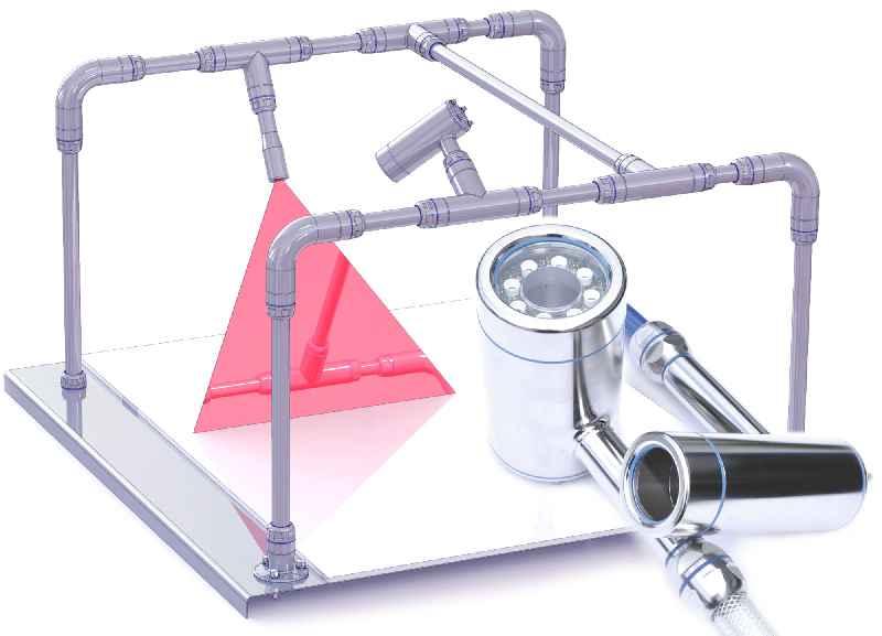 Hygienic Building Kit von autoVimation –weltweit das erste BV-Komplettmontagesystem für hygienische Bereiche