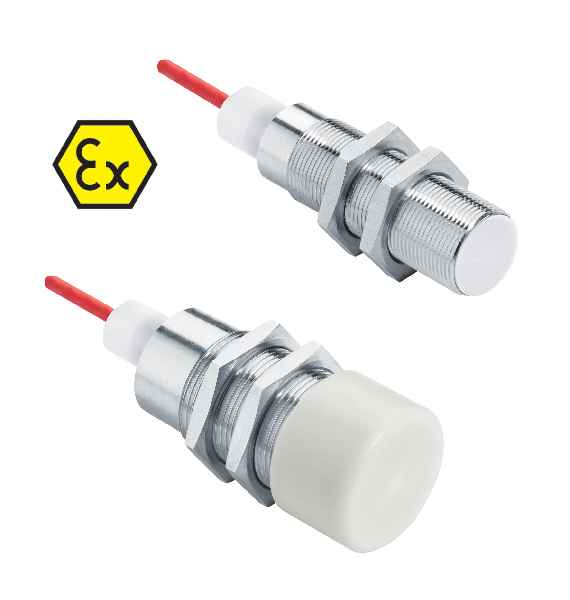 IGEX20Pa ATEX- and IECEx-certified proximity switches withstand freezing temperatures down to -60 °C