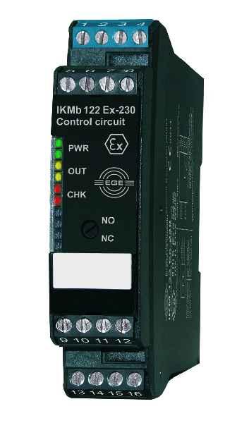 Jetzt auch mit IECEx-Zulassung: Auswertegeräte der Baureihe IKM für eigensichere 2-Leiter-Sensoren von EGE