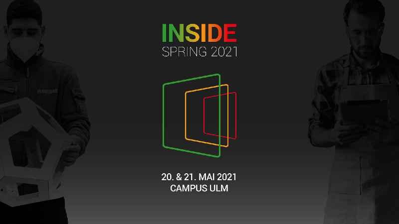 Die Hausmesse Inside Spring 2021 von Biesse Deutschland findet am 20. und 21. Mai auf dem Campus Ulm statt