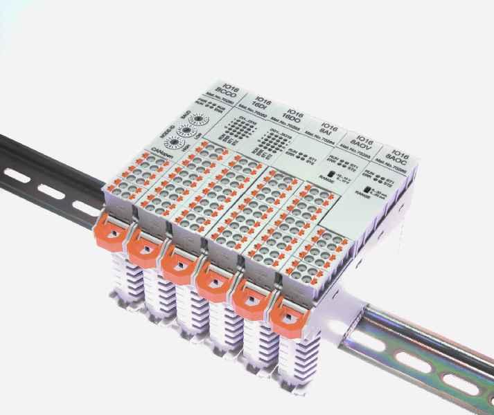 MKT passt die I/O-Module der Baureihe IO16 auch nach kundenspezifischen Vorgaben an.