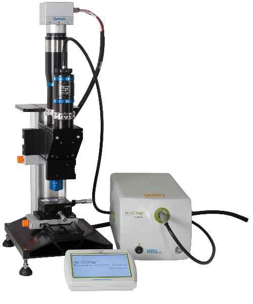 Das mag.x System 125 von Qioptiq ist ein hochauflösendes Mikroskop-System mit großem Bildfeld