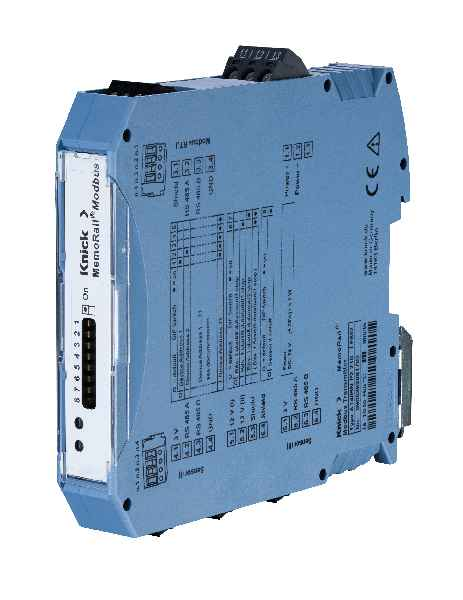 MemoRail Modbus A1405N for full-featured Modbus integration of Memosens monitoring stations