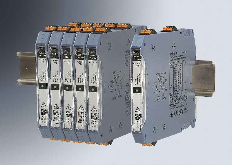 The SIL-2-rated ProLine P 16000 pulse frequency conditioners ensures functionally safe detection and transmission of encoder signals on rolling stock