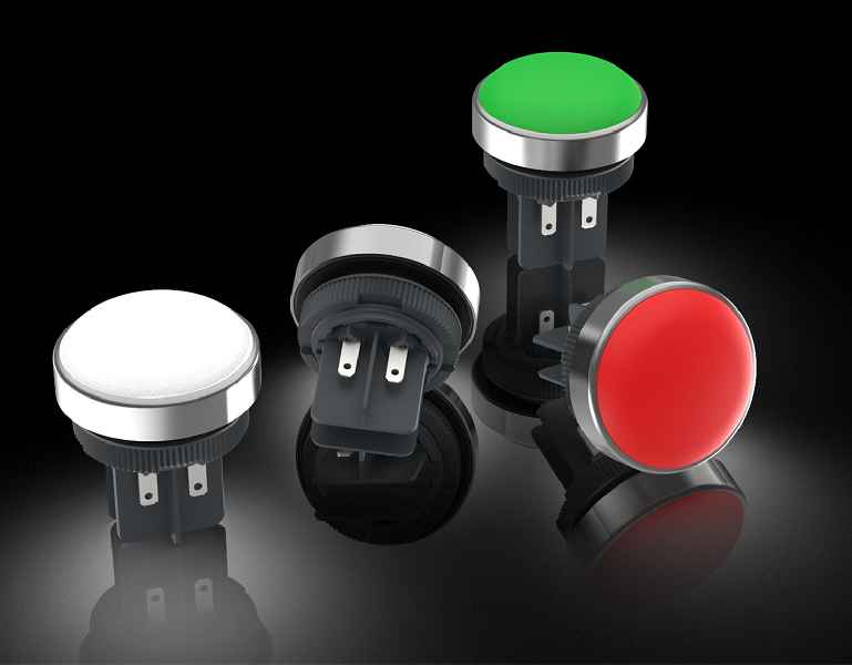 New RAFIX 22 FSR series signal lights for three reporting modes
