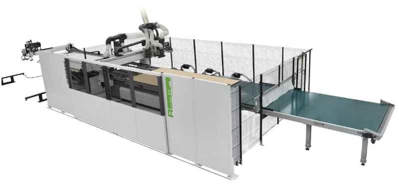 Hochdynamisch: CNC-gesteuertes Bearbeitungszentrums RoverBFTHD von Biesse.