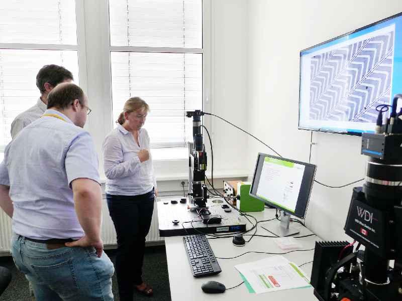 Der Qioptiq-Showroom in Feldkirchen bei München dient der Produktvorstellung und kann zu Testzwecken genutzt werden.