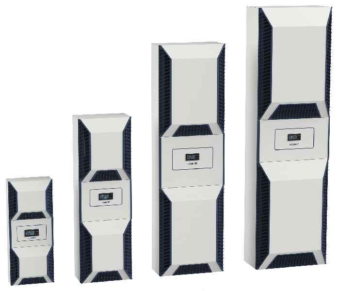 Seifert Systems bietet seine schlanke energieeffiziente Kühlgeräte-Serie SlimLinePro in neun Leistungsklassen mit Nennleistungen zwischen 200W und 3,1kW an