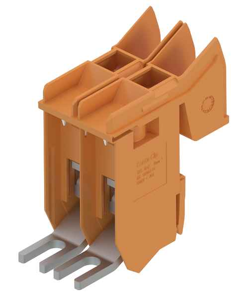 The TKS 16 transformer terminal for wire cross-sections up to 16 mm? feature a cover that opens wide for easy access