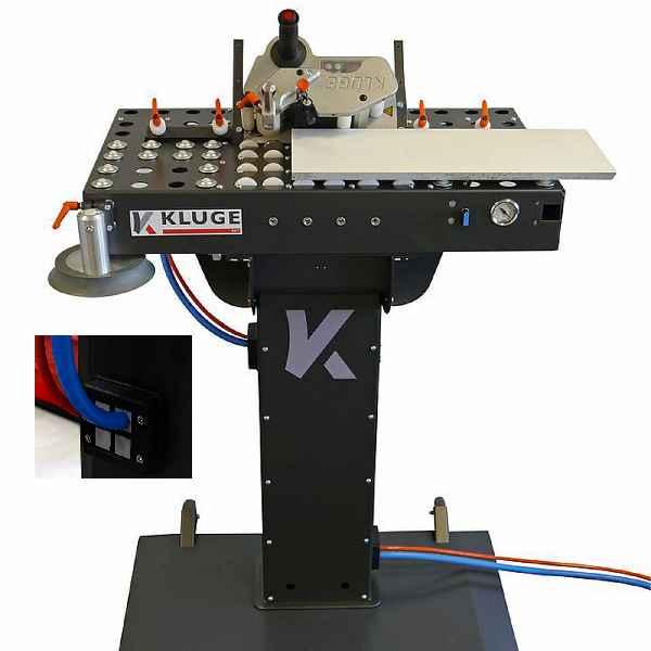 Winkel- und Bearbeitungstisch (BAT) mit Heißluftaggregat HIT-M und KDSClick