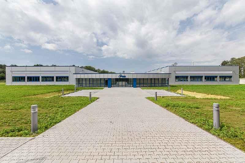 Sensor manufacturer FSG Fernsteuergeräte's new plant in Königs Wusterhausen, near Berlin.