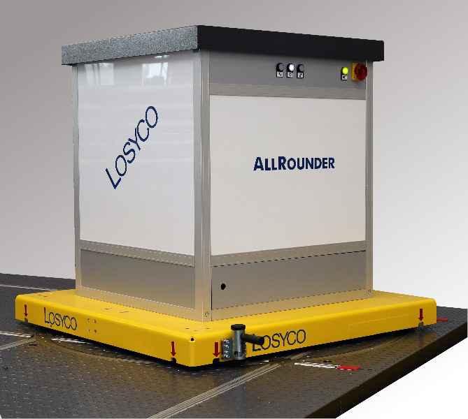 Die zweite AllRounder-Generation und ein neues automatisches Bremsmodul sind Highlights des LogiMAT-Messeauftritts von LOSYCO in Halle 7/B09