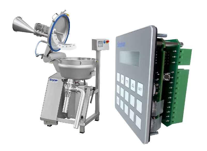 Kompakte Bedienlösung mit integrierter Steuerungselektronik für die modellübergreifende Integration in Universalmaschinen zur Lebensmittelverarbeitung