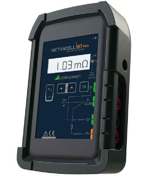 Der neue Batterietester METRACELL BTPro von Gossen Metrawatt zur professionellen Funktionsprüfung und Wartung von Batteriespeichern