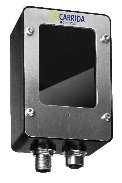 The Carrida Cam Basic+ running the automatic license plate recognition software is probably the smallest and most effective available ALPR camera