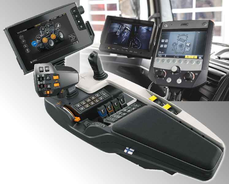 RAFI exhibits at bauma include an armrest HMI for tractors and a touchscreen control unit for municipal service vehicles