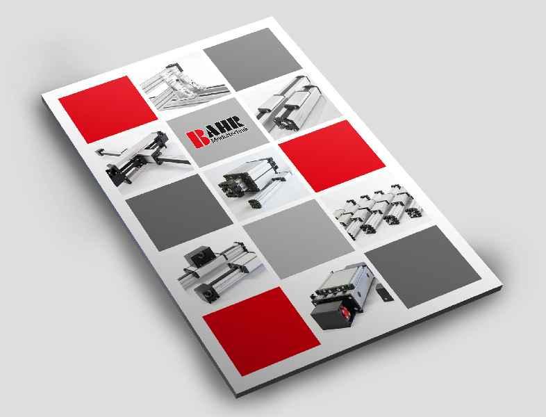 Im neuen Katalog präsentiert BAHR Modultechnik das ganze Spektrum seiner wirtschaftlichen Positioniertechnik