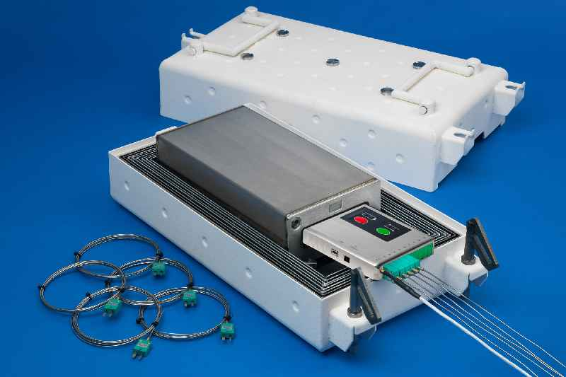 The quick-cool-down, no-outgassing system enables frequent profiling of product temperatures even during normal production