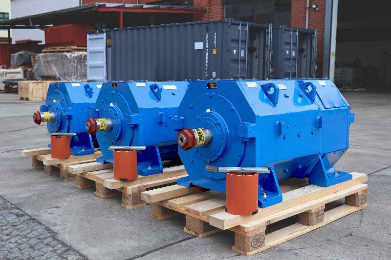 Menzel recently built three application-tailored mill motors