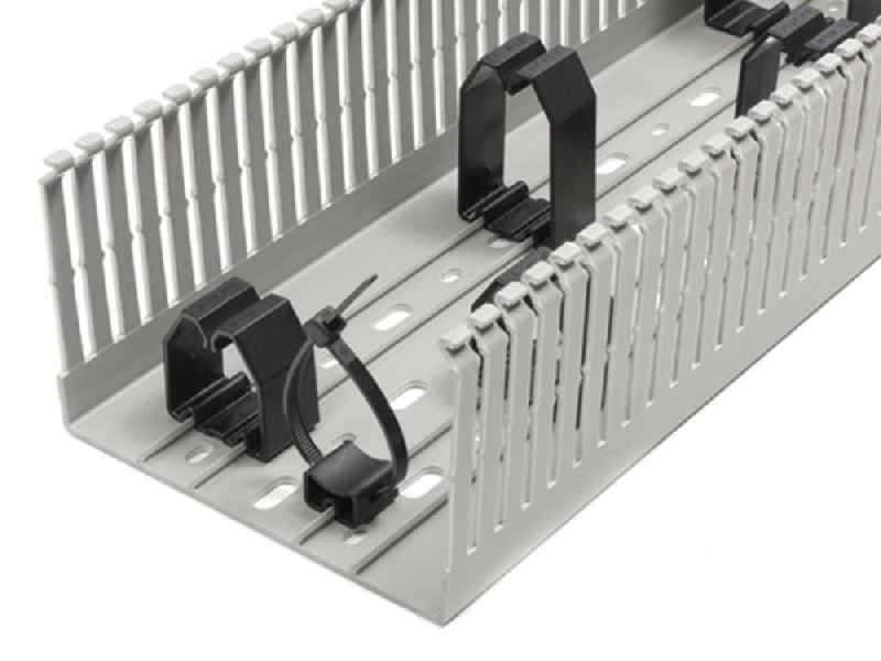 CONTA-CLIP introduces wire holders for VK cabling ducts