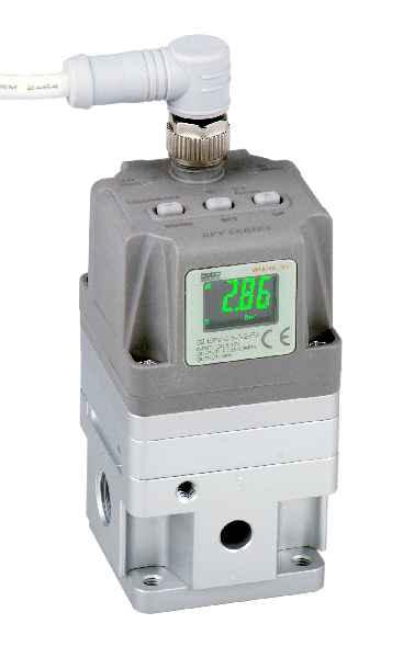 Die neuen Proportional-Druckregelventile der Modellreihe 82-EPV von AIRTEC sind in neun Varianten für Regelbereiche von 0,05bar bis 9bar erhältlich