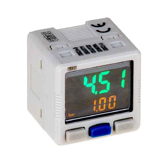 Neuer elektronischer Druckschalter mit zweifarbiger LCD-Anzeige für Mess- und Einstellbereiche von -1…1bar bis -1…20bar