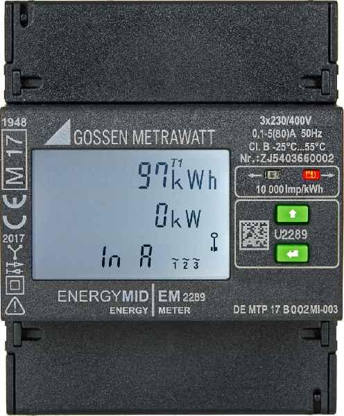 Der hochkompakte ENERGYMID von Gossen Metrawatt ist ab sofort auch in zwei Versionen zur Direktmessung ohne Strom- und Spannungswandler erhältlich