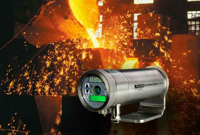 Endurance ratio pyrometers measure temperatures from 250 to 3,200 °C