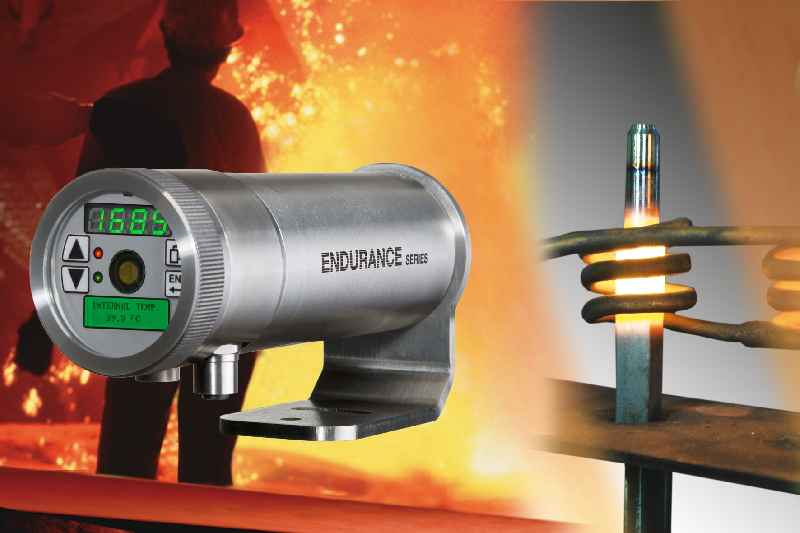 Illustration 1: Rugged infrared thermometers ensure high precision and flexible integration in all kinds of process monitoring setups
