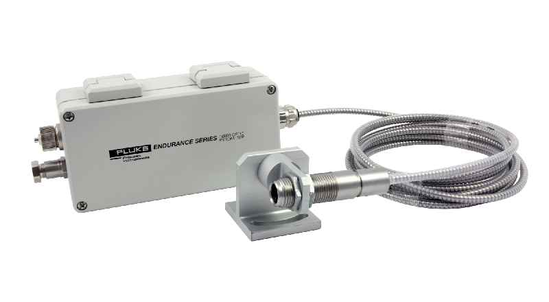 The remote head option is available for various monochrome and ratio pyrometers for measured temperatures up to 3,200 °C