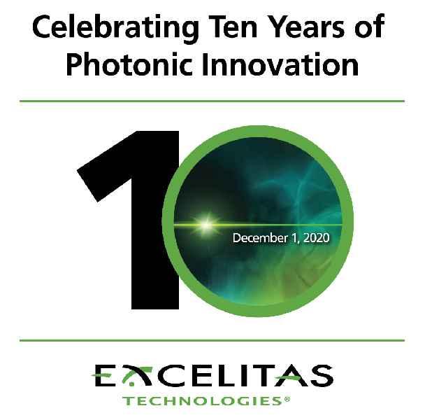 Excelitas Technologies, einer der führenden Hersteller von Photonikkomponenten und -systemen, feiert sein zehntes Jubiläum