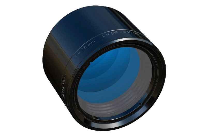 Das neueste Objektiv der Reihe LINOS F-Theta Ronar bietet in seiner Klasse die kürzeste Brennweite, die kleinsten Spotgrößen bis 5 µm und die größten Scanfelder