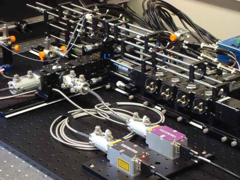 Das modulare, skalierbare Zellanalysegerät besteht ausschließlich aus Standardkomponenten