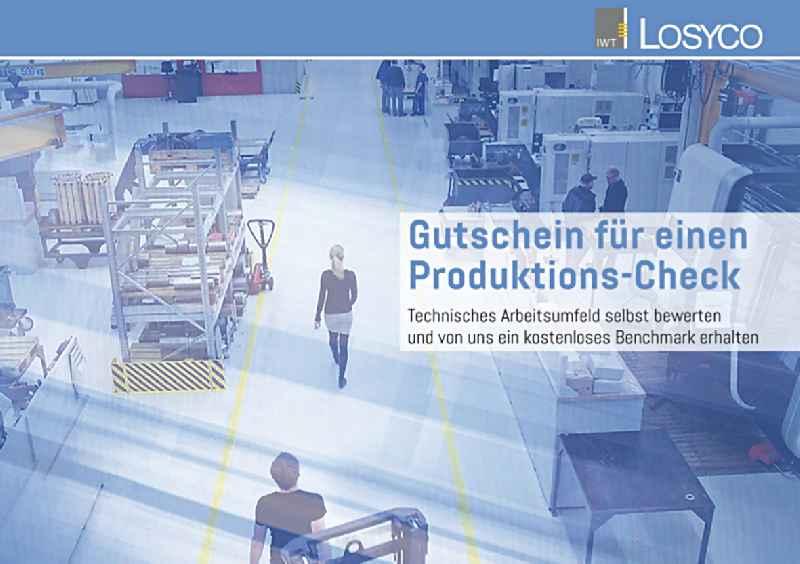 Effizienz-Check vom Experten: LOSYCO bietet kostenfreie Unterstützung bei der Produktionsoptimierung