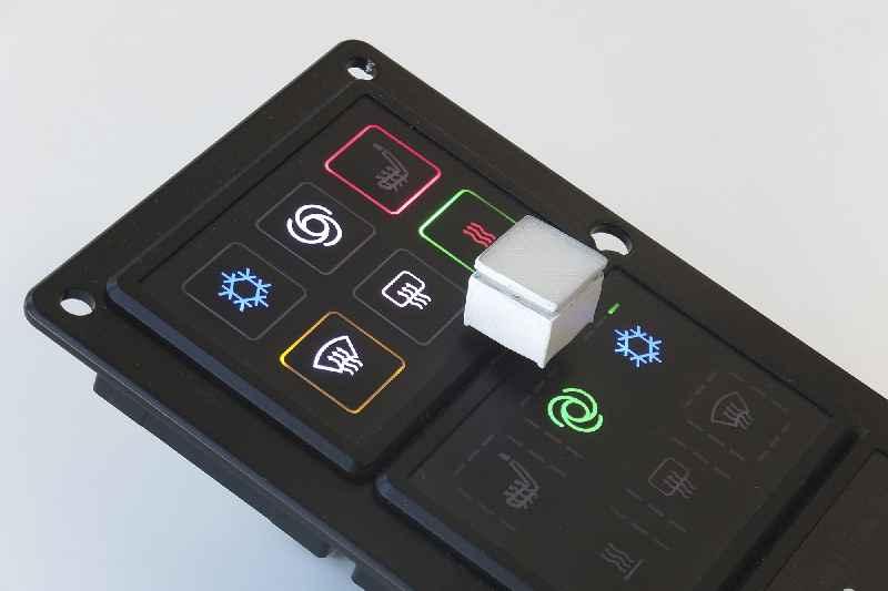 Als Messeneuheiten zeigt Griessbach auf der electronica seine zum Patent angemeldete Hall-Sensorik sowie neue Beleuchtungsoptionen für Kurzhubtaster