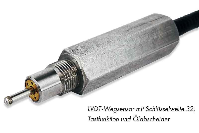 Einfacher Einbau per Schraubenschlüssel: Die Heavy-Duty-Gehäuselösung für LVDTs von Inelta
