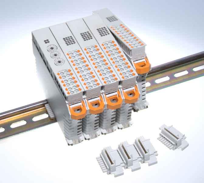 Mit der Baureihe IO16 bringt MKT Systemtechnik eine neue, sehr wirtschaftliche Buskoppler-Serie einschließlich der passenden I/O-Module in den Markt.