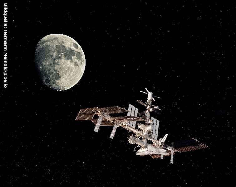 inelta Sensorsysteme liefert auch Sensoren für die Internationale Raumstation ISS