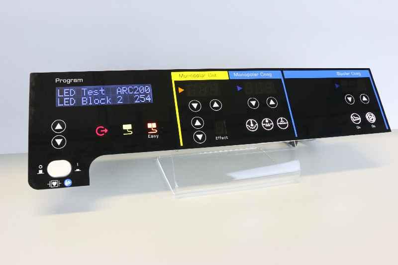 Technik- und kostenoptimiert gefertigte Bediensysteme mit kapazitiven Glasfronten in kundenspezifischer Ausführung