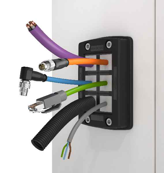 Easy to assemble and mount: Cable duct system KDSClick with IP66 ingress protection