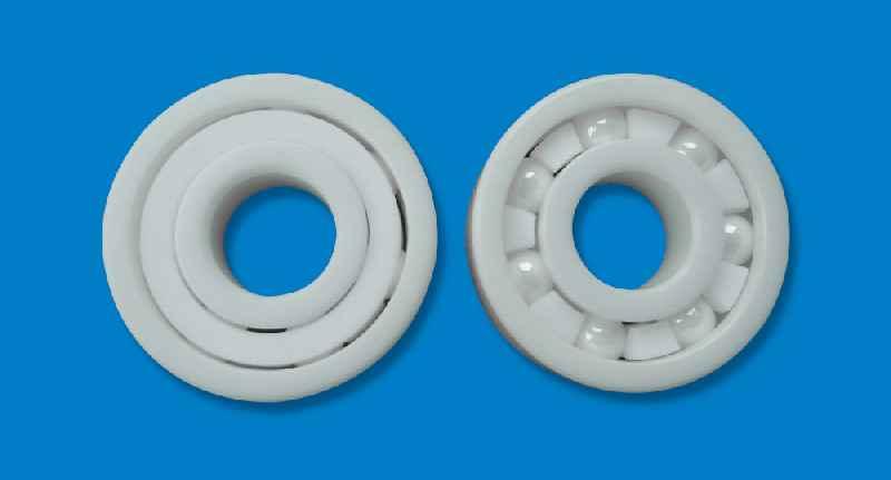 Langlebige, temperatur- und korrosionsbeständige Keramikkugellager trotzen auch sehr rauen Einsatzbedingungen