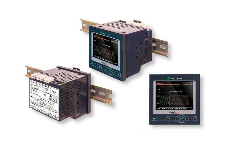 Der LINAX PQ1000 von CAMILLE BAUER: Kompakter Netzanalysator gemäßIEC61000-4-30 Ed. 3 der Klasse S