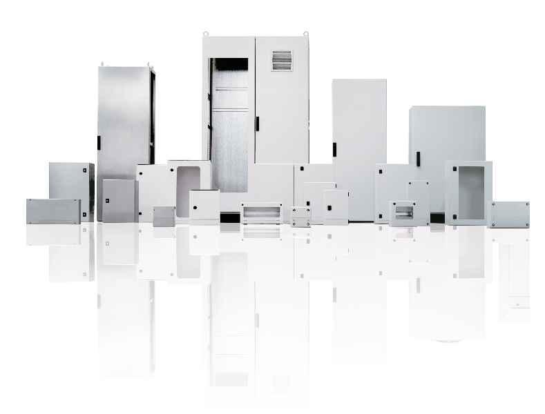 Die LFS Technology bietet komplette Gehäusesystemlösungen von Maschinen- und Schutzverkleidungen bis zu Schaltschränken und Verteilergehäusen der Marke LOHMEIER aus einer Hand