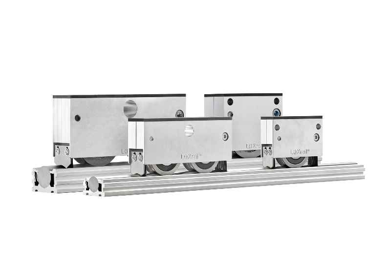 Lean in line: LOXrail from Losyco enables one-piece flow assembly of medium-weight and heavy-weight machines and products