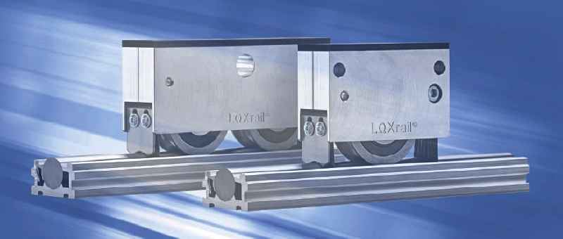 The new LOXrail catalog presents the comprehensive portfolio for the heavy-duty rail system